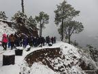 भोपाल के ट्रैकर्स ने माइनस 17 डिग्री टेंप्रेचर और 3400 मीटर की ऊंचाई पर की ट्रैकिंग|भोपाल,Bhopal - Dainik Bhaskar
