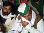 राकेश टिकैत ने गाजीपुर बॉर्डर पर अनशन शुरू किया, रोते हुए बोले- कानून वापस लो नहीं तो खुदकुशी कर लूंगा|देश,National - Dainik Bhaskar