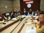 नगर निगमों को जीतने के लिए BJP बनाएगी ब्लू प्रिंट, उम्मीदवारों के चयन में उम्र सीमा भी तय होगी|मध्य प्रदेश,Madhya Pradesh - Dainik Bhaskar