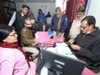 सोसायटी के ऑफिस में बैंक की तरह हो रहे थे सभी लेन देन, जिला प्रशासन ने मारा छापा, ऑफिस किया सील|ग्वालियर,Gwalior - Dainik Bhaskar