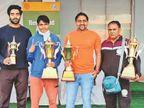 ओवरआल चैम्पियनशिप ट्राफी के साथ जीते 11 स्वर्ण सहित 25 पदक|फरीदाबाद,Faridabad - Dainik Bhaskar