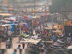 470 ठेले सड़कों पर लौटे, ट्रैफिक सुधार के लिए फिर किए जाएंगे हॉकर्स जोन में शिफ्ट|ग्वालियर,Gwalior - Dainik Bhaskar