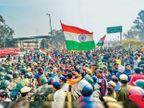 स्थानीय लोग निकाल रहे थे तिरंगा सम्मान यात्रा, उसी समय अज्ञात लोगों ने कर दिया था पथराव|दिल्ली + एनसीआर,Delhi + NCR - Dainik Bhaskar