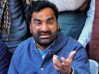 नागौर सांसद बेनीवाल ने बजट सत्र के लिए बुलाई सर्वदलीय बैठक का बहिष्कार किया, कल संसद में किया था विरोध|नागौर,Nagaur - Dainik Bhaskar