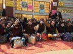 शिक्षक बोले- अब दिए गए शपथ पत्र से भी मुकर रहा मैनेजमेंट, आज समाधान की उम्मीद|पानीपत,Panipat - Dainik Bhaskar