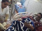 सहरसा से मधेपुरा के अपने बाइक शोरूम जा रहे थे राजकुमार सिंह; इनके पैर में, कर्मचारी के सीने में लगी गोली|बिहार,Bihar - Dainik Bhaskar