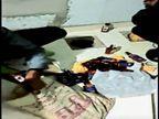 फर्श और दीवार में बनाए चेंबर में दबी मिली शराब, बालागंज में सामने आई अवैध कारोबार की तिकड़म|होशंगाबाद,Hoshangabad - Dainik Bhaskar