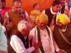 दिव्या मदेरणाा के बाद राजाराम मील भी राकेश टिकैत से मिले, लोकगीतों से वापस आंदोलन को ताकत मिल रही अलवर,Alwar - Dainik Bhaskar
