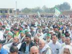 BKU अध्यक्ष नरेश टिकैत शामिल होंगे; यमुना एक्सप्रेस वे को जाम करने पर फैसला संभव|आगरा,Agra - Dainik Bhaskar