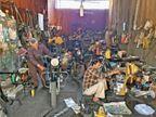 इंदौर पर 60 साल पुरानी बाइक का जुनून, यूके से मंगवाते हैं पार्ट्स, उन्हें कैसे हटाएंगे दिल से|इंदौर,Indore - Dainik Bhaskar