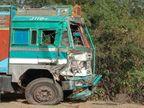 रीवा में पिपराही चौकी के पास तेज रफ्तार बस और ट्रक की जोरदार भिड़ंत, तीन की मौत|जबलपुर,Jabalpur - Dainik Bhaskar