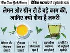 मोटापा और मानसिक समस्याओं से छुटकारा पाने में कारगर है चाय, जानें इसे पीने के सही तरीके|ज़रुरत की खबर,Zaroorat ki Khabar - Dainik Bhaskar