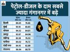 बजट के तीन दिन बाद बढ़े पेट्रोल और डीजल के दाम, दिल्ली में पेट्रोल 86.65 रु/लीटर पर बिक रहा|बिजनेस,Business - Money Bhaskar