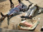 संपत नेहरा गैंग ने हिस्ट्रीशीटर प्रदीप स्वामी पर की अंधाधुंध फायरिंग, स्वामी सहित दो ग्रामीणों और गैंग के एक बदमाश की मौत|झुंझुनूं,Jhunjhunu - Dainik Bhaskar