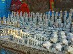 ई-काॅमर्स कंपनियों से भेड़ाघाट के पत्थर शिल्पी जुड़े, देश व विदेशों में घर बैठे बेच सकेंगे अपनी मूर्तियां|जबलपुर,Jabalpur - Dainik Bhaskar