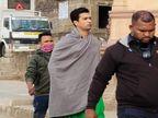 नर्मदा किनारे अहिल्या किले और घाटों पर चल रही फिल्म की शूटिंग; स्थानीय लोगों को मिला रोजगार|खरगोन,Khargone - Dainik Bhaskar
