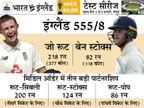 रूट 10 साल में भारत में डबल सेंचुरी लगाने वाले पहले विदेशी बल्लेबाज, इस साल 3 टेस्ट में बना चुके हैं 644 रन|क्रिकेट,Cricket - Dainik Bhaskar