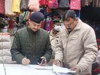 वेरायटी चौक पर स्वर्णिका कर्मचारियों की आंखों पर मिर्ची फेंक पिस्टल तानी और 1.85 KG सोना ले गए|बिहार,Bihar - Dainik Bhaskar