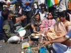 ग्वालियर में किसानों ने ट्रैफिक रोका; इंदौर में 20 किसान ही जुटे, उज्जैन में सड़क पर रोटियां सेंककर लौटे|मध्य प्रदेश,Madhya Pradesh - Dainik Bhaskar
