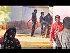 लाइव मर्डर, दो बाइक पर आए 6 बदमाशों ने बरसाईं गोलियां; रिटायर्ड टीचर समेत 4 की मौत|चूरू,Churu - Dainik Bhaskar