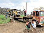 इंदौर-दाहोद रेल प्रोजेक्ट बंद होते ही मशीनें भी चली गईं, अब करोड़ों तो इन्हें लाने में ही लगेंगे|इंदौर,Indore - Dainik Bhaskar