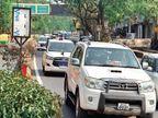 बोले-इंदौर सफाई में नंबर-1, लेकिन ट्रैफिक में बेहाल; ट्रैफिक सुधारना ही प्राथमिकता|इंदौर,Indore - Dainik Bhaskar