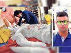 झारखंड के बेटे की महाराष्ट्र में हत्या, पलामू के नाैसैनिक काे चेन्नई से अगवा कर पालघर में जिंदा जलाया|रांची,Ranchi - Dainik Bhaskar