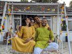 कजिन की वेडिंग में पहुंचे आमिर खान की बेटी इरा के रूमर्ड ब्वॉयफ्रेंड नुपुर शिखरे|बॉलीवुड,Bollywood - Dainik Bhaskar