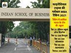 एफटी की ग्लोबल रैंकिंग में शामिल पांच भारतीय इंस्टीट्यूट्स, इंडियन स्कूल ऑफ बिजनेस बना देश का सर्वश्रेष्ठ संस्थान|करिअर,Career - Dainik Bhaskar