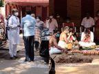 धनुष ने अपने नए घर का कराया भूमिपूजन, सुपरस्टार रजनीकांत पत्नी संग आए नजर बॉलीवुड,Bollywood - Dainik Bhaskar