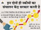 VPF और PPF में निवेश करके आप भी पा सकते हैं ज्यादा फायदा, यहां जानें इनसे जुड़ी खास बातें|बिजनेस,Business - Dainik Bhaskar