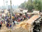 पूर्णिया में दो बच्चों के साथ घर में सोई महिला को जगने का मौका भी नहीं दिया, जिंदा बच गया चौकी के नीचे दबा पति पूर्णिया,Purnia - Dainik Bhaskar