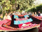 कांग्रेस की राष्ट्रीय अध्यक्ष सोनिया गांधी व पूर्व अध्यक्ष राहुल गांधी की चादर 18 को पेश होगी|अजमेर,Ajmer - Dainik Bhaskar