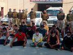 जब गैंगस्टर को किशनगढ़बास जेल जे जा रहे थे, उसी दौरान क्षेत्र के बंटवारे के विवाद में किन्नरों की बुलाई गैंग जा रही थी; 24 गिरफ्तार|अलवर,Alwar - Dainik Bhaskar