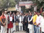 वाराणसी में कांग्रेसियों ने राहुल गांधी को लेकर दिये बयान से नाराजगी जताई, कोर्ट में परिवाद दाखिल किया|वाराणसी,Varanasi - Dainik Bhaskar