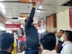 शहर के प्रमुख मॉल का औचक निरीक्षण किया, बंद और खराब मिले फायर फाइटिंग सिस्टम जयपुर,Jaipur - Dainik Bhaskar