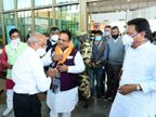 रघु शर्मा ने साधा केंद्र सरकार पर निशाना, कहा - पेट्रोल डीजल की बढ़ती कीमत के लिए सिर्फ मोदी सरकार जिम्मेदार|उदयपुर,Udaipur - Dainik Bhaskar