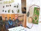 श्रीनगर में विदेशी डेलीगेट्स के दौरे के दिन आतंकियों ने फायरिंग की, जम्मू एयरपोर्ट पर एक आतंकवादी गिरफ्तार देश,National - Dainik Bhaskar