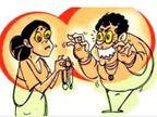 शरीर में देवी आने का नाटक करती महिला ठग, कर्मचारी की पत्नी से रुपए लेकर होती थी शांत, नहीं देने पर श्राप देने की धमकी|ग्वालियर,Gwalior - Dainik Bhaskar