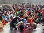 हरियाणा-पंजाब में हाईअलर्ट; GRP-RPF के पहरे में ट्रैक पर बैठे सैकड़ों महिला-पुरुष, स्टेशनों पर यात्रियों की भी भीड़|हरियाणा,Haryana - Dainik Bhaskar