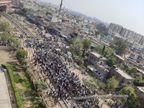 3 घंटे जगतपुरा फाटक पर जमे रहे आंदोलनकारी; जयपुर, अलवर, रेवाड़ी स्टेशनों पर रोकनी पड़ी 5 ट्रेनें, यात्री भूख-प्यास से होते रहे परेशान|जयपुर,Jaipur - Dainik Bhaskar