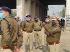 निपटने के लिए 5500 से सुरक्षाकर्मियों ने संभाली कमान, जीआरपी, रेलवे स्टेसनों और ट्रैक की सुरक्षा बढ़ाई गई फरीदाबाद,Faridabad - Dainik Bhaskar