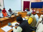प्रताप सिंह ने अधिकारियों की लगाई क्लास, कहां - धरातल पर करें काम, नहीं तो भुगतने होंगे अंजाम|उदयपुर,Udaipur - Dainik Bhaskar