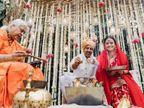 दीया मिर्जा ने शेयर किए शादी के किस्से- न कन्यादान हुआ न विदाई, ईकोफ्रैंडली मंडप में हुई शादी|बॉलीवुड,Entertainment - Dainik Bhaskar