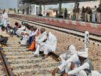 शाम चार बजने के बाद दिल्ली-जयपुर ट्रैक पर ट्रेनों का संचालन शुरू हो गया, करीब चार घण्टे इस रूट पर नहीं चल सकी, सवारी रही परेशान|अलवर,Alwar - Dainik Bhaskar