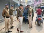 बाइक सवार ने झंझट के बाद हथियार लेकर 6 साथी बुलाए और ठेकेदार को मार दी गोली|बिहार,Bihar - Dainik Bhaskar
