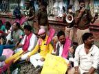 जाप ने सुबह में सचिवालय हॉल्ट पर ट्रेन रोकी, दोपहर में CPI, AIDSO ने पटना जंक्शन पर किया प्रदर्शन, आरा में 13 गिरफ्तार|बिहार,Bihar - Dainik Bhaskar