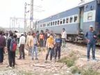 घर में हुई थी लड़ाई, सुसाइड करने अधेड़ पहुंच गया रेलवे ट्रैक पर|भोजपुर,Bhojpur - Dainik Bhaskar