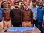 मोबाइल कंपनी में ऑपरेटर है पकड़ा गया युवक, पुलिस को हवाला या कालेधन की आशंका; IT और ED को सूचना दी|कोटा,Kota - Dainik Bhaskar