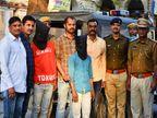 गर्ल फ्रैंड को महंगे गिफ्ट देने के लिए करने लगे लूट और चोरी, दो नाबालिग समेत 4 पकड़े गए उदयपुर,Udaipur - Dainik Bhaskar